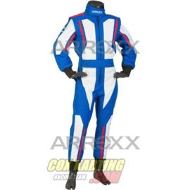 Arroxx Overall Cordura Junior, Level 2, Xbase, Blauw-Wit-Rood