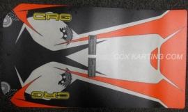 CRG Bodemplaat Sticker 2015 met tandwielen
