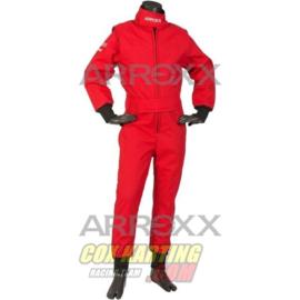 Arroxx Overall Cordura Junior, Level 2, Xbase, Monocolor, Rood