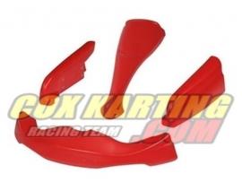 Plasticset XTR rood