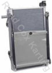 RADIATOR-KIT MAX 450x280x40mm SILVER