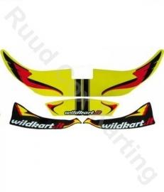 Wildkart Stickerset voor KG New Age Voorspoiler