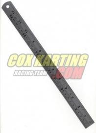 Aluminium Liniaal 30 cm