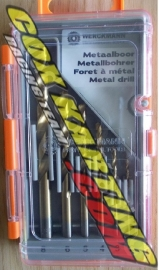 Metaalborenset Werckmann 2-8 mm 6 dlg