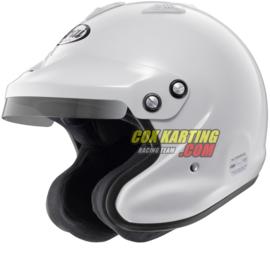 Arai helm GP Jet 3 Open helm – Wit zonder hans clips