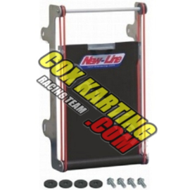 NEW-LINE RADIATOR COVER KIT BLACK RS