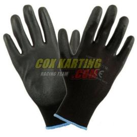 Monteurshandschoenen zwart maat 9