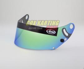 Arai spiegelvizier GP6/SK6 Groen met Fia Label