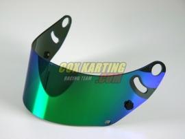Arai spiegelvizier CK6 Groen