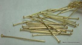 GK Stiften met plaatje 2 cm (per 25 stuks) 2g)