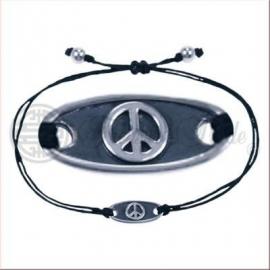 Armbandje met Vredesteken.