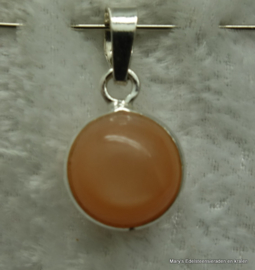Peach Maansteen hangertje