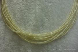 Lemon Jade snoer facet 2 mm (Nr207).