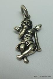 Zilveren Engeltje (Cupido)