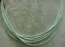 Amazoniet snoer buisjes 2x4 mm (Nr50)*