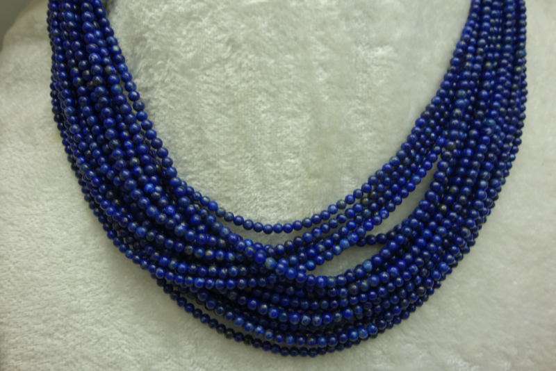 Lapis Lazuli snoer 3 mm (B88)*