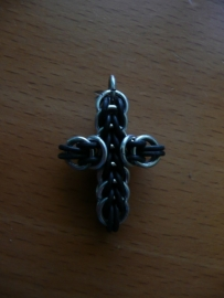 chainmaille full persian cross klein (01kt020)