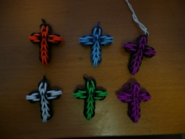 chainmaille full persian cross glow int he dark(01kt030)