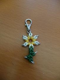 link it rubber bloem sleutelhanger (05sh003)