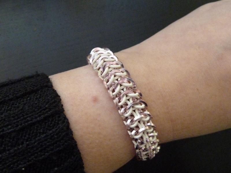 interwoven european 4in1 armband kleine ringen