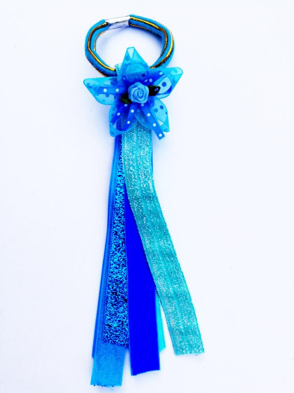 Haarelastiekje Blue