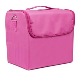nagelkoffer / tas roze