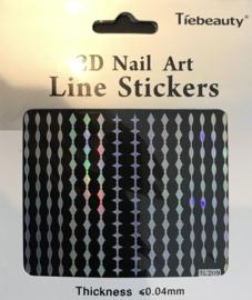 monochromate sticker nr. 209