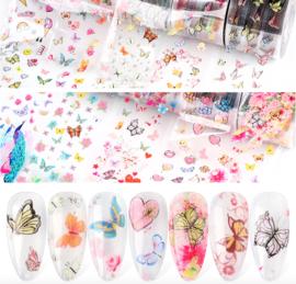 set transferfolie butterfly 821