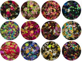 dotties (set 2) 12 kleuren (demofilm)