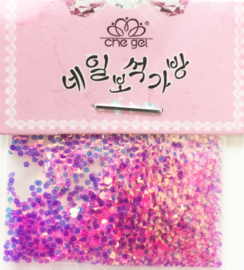 scale art pink