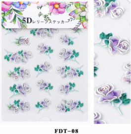 5D sticker FDT-08