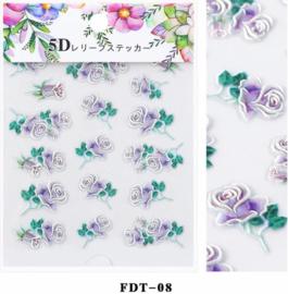 5D sticker FDT-08