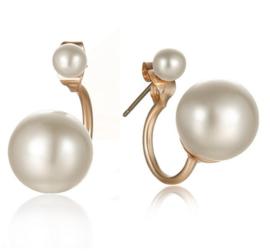 double pearl oorbellen (vanaf 25 euro aan artikelen - EXCLUSIEF verzendkosten)