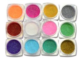 mermaid poeder glitterset de luxe 12 kleuren