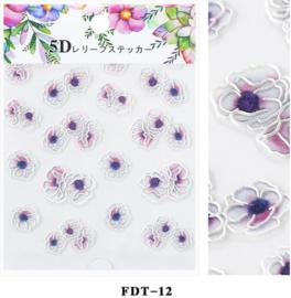 5D sticker FDT-12