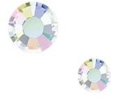 austria strass steentjes crystal AB keuze uit ss6-ss10-ss16-ss20