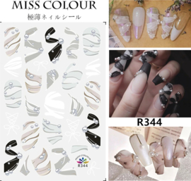 sticker miss colour 344
