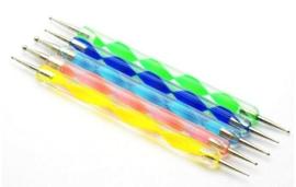 dotting pen set 5 stuks