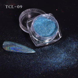 magic laser chrome pigment blue 09