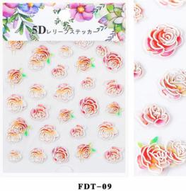 5D sticker FDT-09