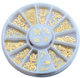wheel metal flakes figuren