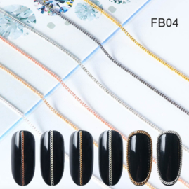 inlay ketting  FB04