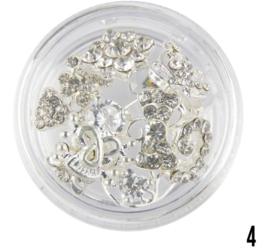 nagel sieraad (zilver 4)