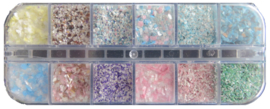 marble flocks box 12 kleuren