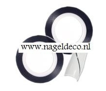 striping tape nr.5 zilver