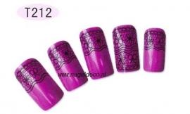 nagel sticker T212 black