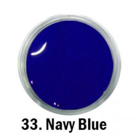 acryl verf nr. 33 navy blue 5ml