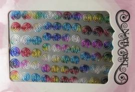 swirl multi color