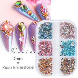 box rainbow strass steentjes A voorbeeld