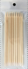 orange woodsticks 10 stuks